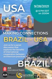 Making Connections Brazil USA International Collaboration Between Architecture Firms