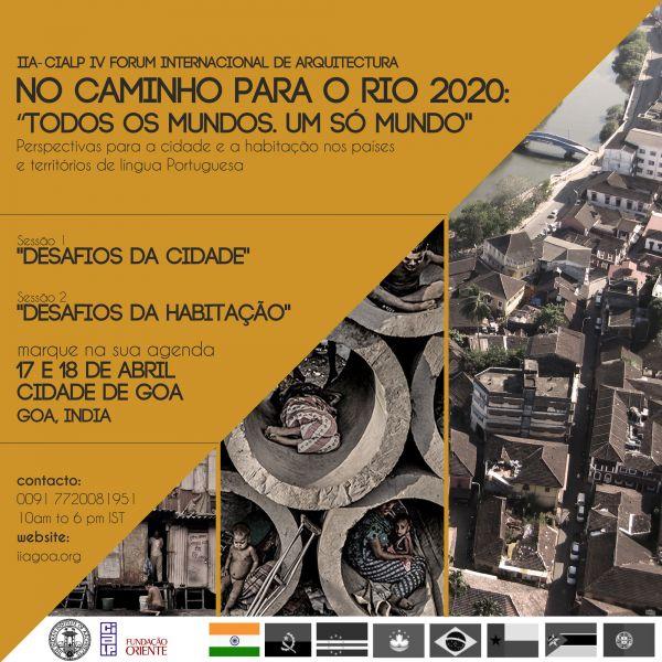 Fórum de Arquitetos de Língua Portuguesa marca integração do estado indiano de Goa