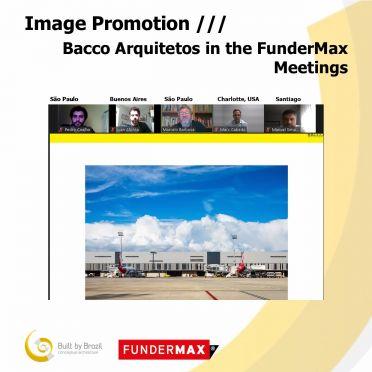 Bacco Arquitetos nos Encontros FunderMax